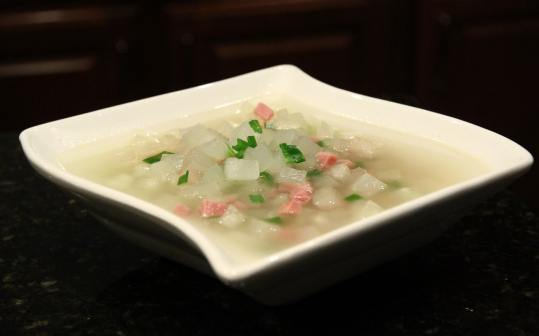 Winter Melon and Ham Soup