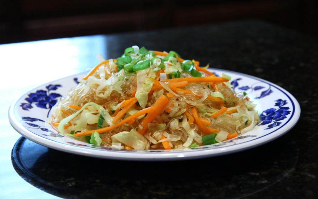 Stir Fried Vermicelli with Vegetables
