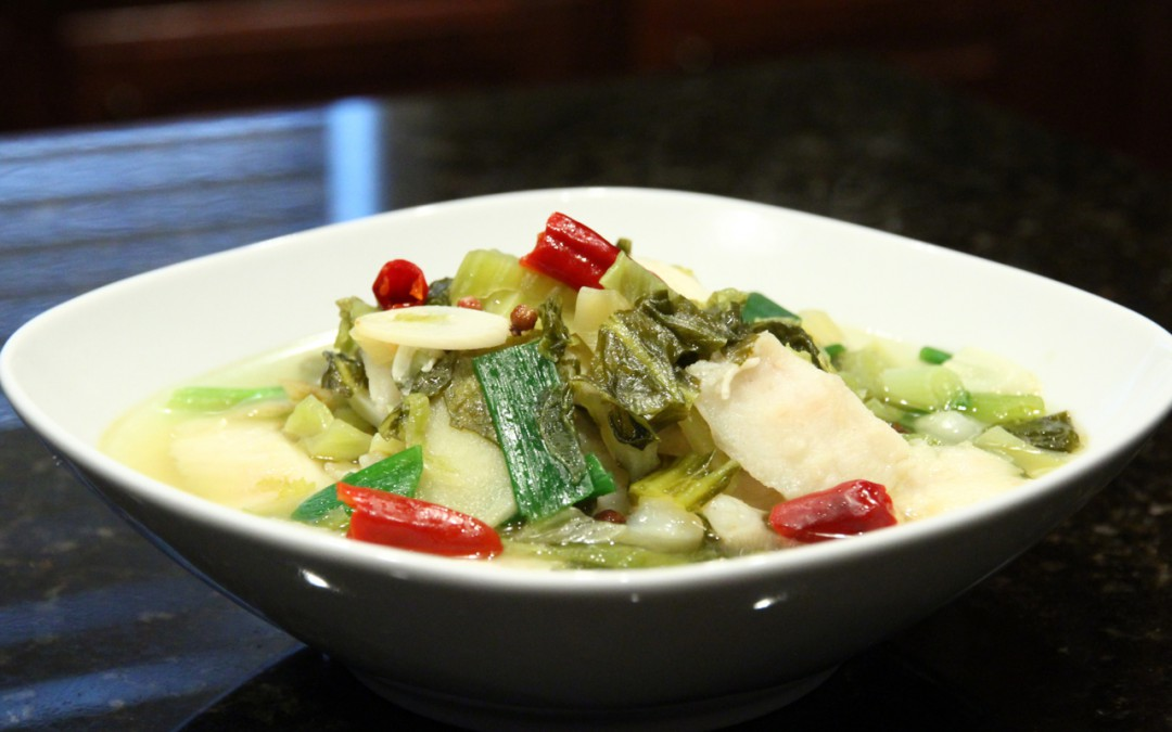 Sichuan Fish Fillet with Pickled Vegetable