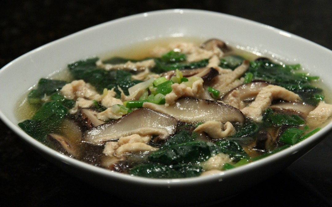 Chicken and Shiitake Mushroom Soup