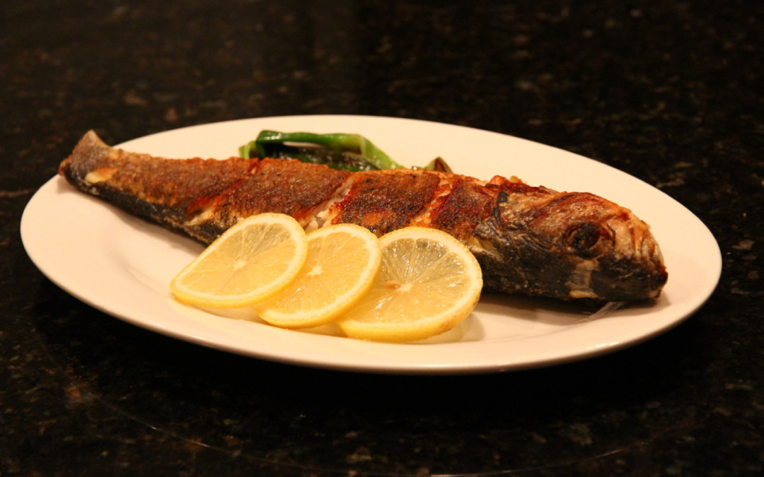 Pan Fried Whole Fish
