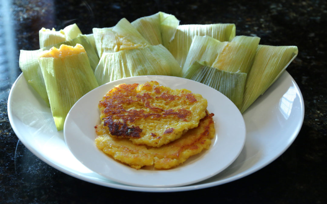Steamed Corn Buns and Corn Pancakes 玉米粑,玉米饼