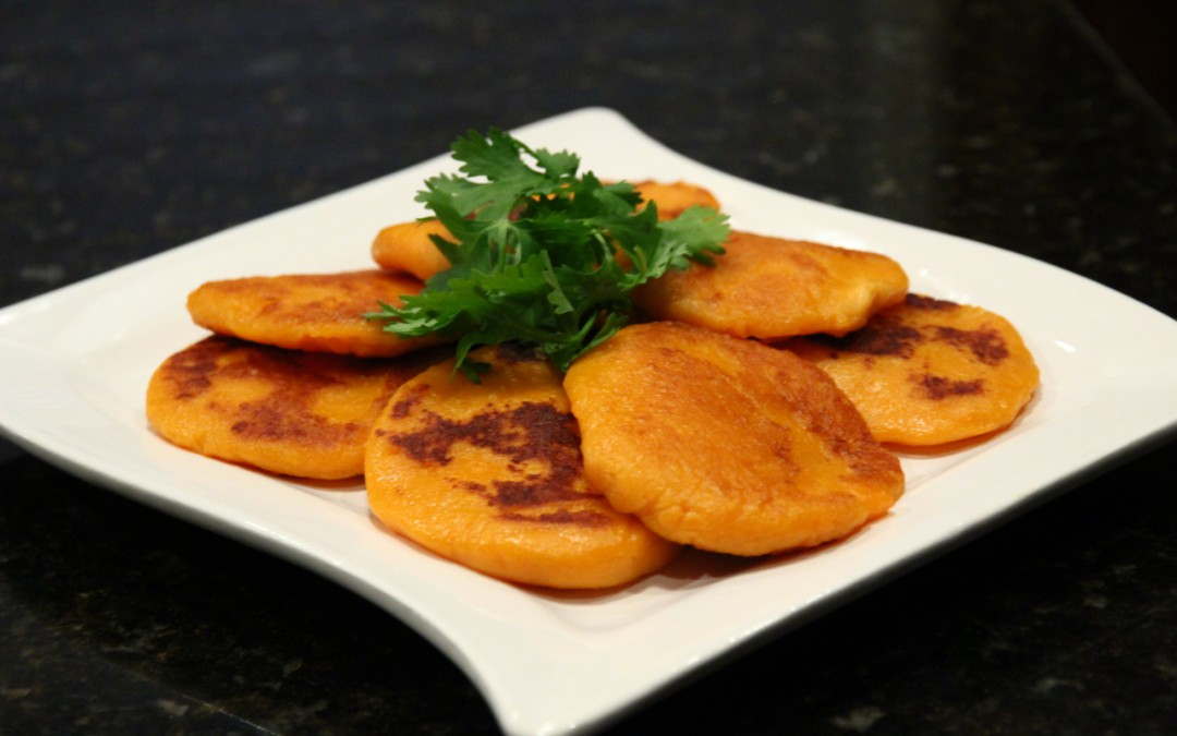 Chinese sweet potato pancakes chinese healthy cooking chinese sweet potato pancakes ccuart Image collections